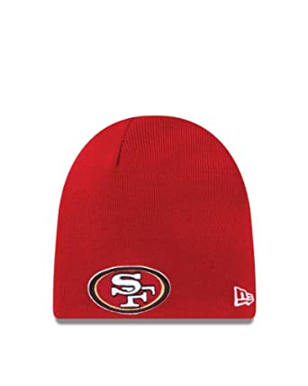 NFL Team Logo Basic Knit Cap (San Francisco 49ers, OSFA)