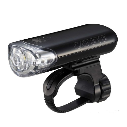 キャットアイ(CAT EYE) ヘッドライト [HL-EL140] ブラック JIS前照灯規格適合品