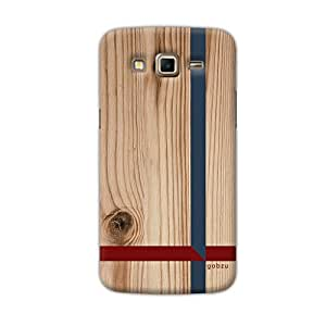 Gobzu Printed Back Covers for Samsung Galaxy Grand 2 (SM-G7102 / G7105) - Wooden Crossroads