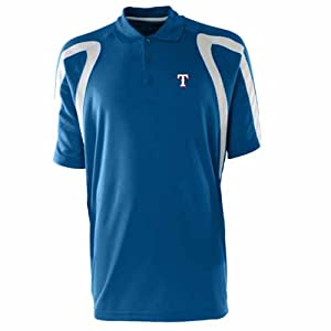 Texas Rangers Point Polo Shirt (Team Color) by Antigua