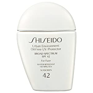 Shiseido Urban Environment Oil-Free UV Protector Broad Spectrum SPF 42 For Face 1 oz