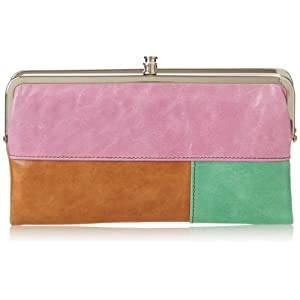 HOBO Vintage Lauren Wallet,Colorblock,One Size