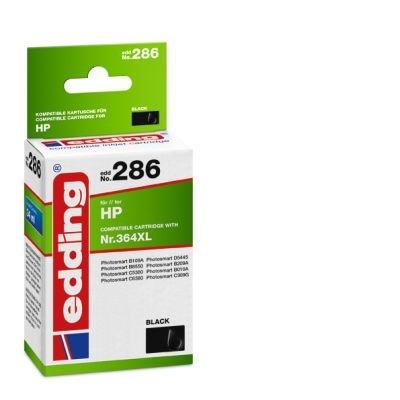 Inkjet Patrone Edding 286 schwarz EDD 18-286 WIE Hp364xl