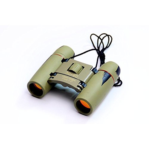 Freedancer Binoculars 30X60 Zoom Folding Telescope With Coated Optics Night Vision (Camo)