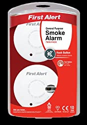 Np General Use Smoke Alarm With Silence Twin Pk by First Alert