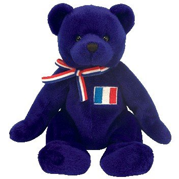 TY Beanie Baby - MASCOTTE the Bear (Europe Exclusive)