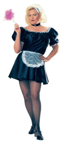 Plus Size French Maid Costume