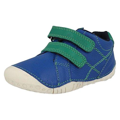 Start-rite Boys bambino Milan in pelle blu pre-walkers, Blu (Blue), 37 EU Bambino