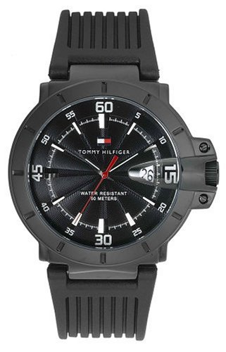 Tommy Hilfiger Men's Black Rubber Watch #1790525 - Buy Tommy Hilfiger Men's Black Rubber Watch #1790525 - Purchase Tommy Hilfiger Men's Black Rubber Watch #1790525 (Tommy Hilfiger, Jewelry, Categories, Watches, Men's Watches, Fashion Watches, Rubber Banded)