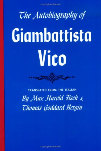 Image for Autobiography of Giambattista Vico