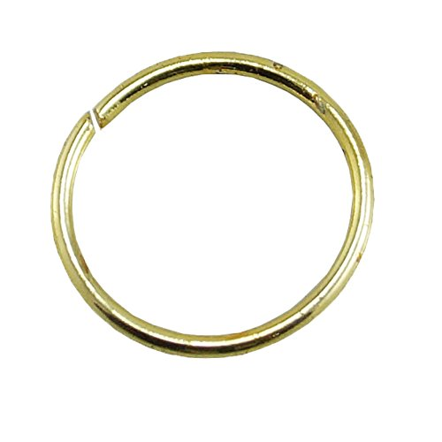 Plain Gold Plated Nose Ring Jewelry For Girls / Women