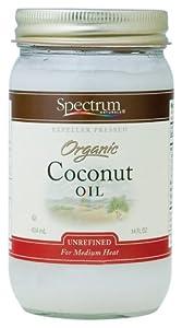 Spectrum Naturals - Coconut Oil Unrefined, 14 oz liquid