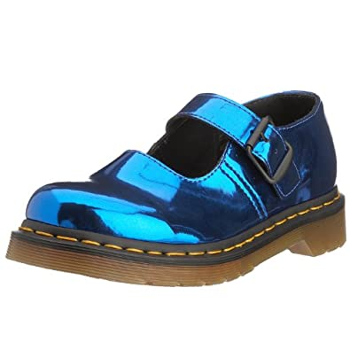 Dr. Martens Womenu0026#39;s 5026 Mary Jane Flat Electric Blue 13500430 3 UK Amazon.co.uk Shoes U0026 Bags