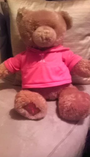 Gund Macy's Breast Cancer Pink Ribbon Plush Teddy