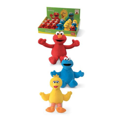 Gund Sesame Street Cookie Monster Zip Along - 1