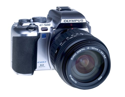 Olympus EVOLT E-500 (with 18-180mm Lens)