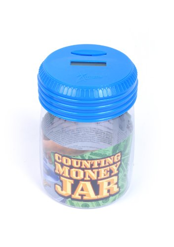 Zillionz Counting Money Jar - Blue # 3056404 - 1