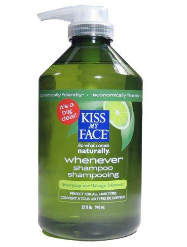 Kiss My Face Whenever Shampoo, Value Size, 32 Ounce