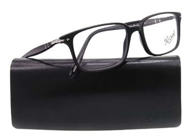 Persol occhiali da vista da uomo 3013 v 95 nero 53mm for Amazon occhiali da vista