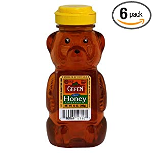 Gefen Honey Bear, 12-Ounce (Pack of 6) $12.39