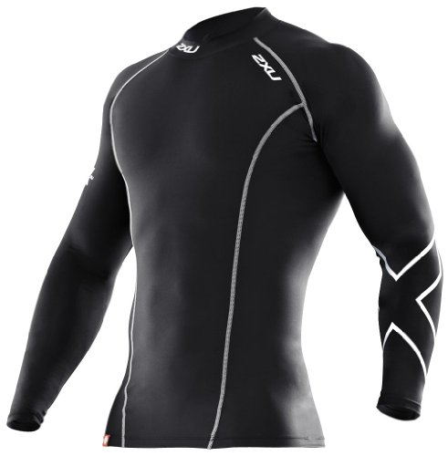 2XU Men's PWX Long Sleeve Compression Baselayer