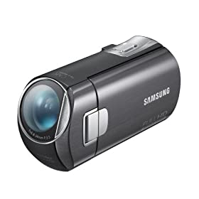 Samsung M20 Maximum Res Camcorder with Full 1080P HD Video, 2.7- Inch TP LCD Magic Finger Touch Shot (Black)