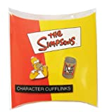 THE SIMPSONS - CUFFLINKS - HOMER AND DUFF BEER