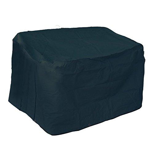 Robuste Schutzhülle für Gartenbank aus starkem Polyestergewebe anthrazit 160x80x80 günstig