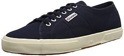 Superga Unisex 2750 Cotu Classic Fashion Sneaker, Navy, 42 EU/Womens 10.5, Mens 9 M US