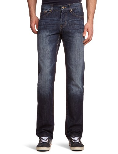 7 For All Mankind Standard 3 Straight Men's Jeans New York Dark W31 INxL34 IN - SMNJ840NY