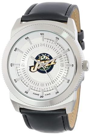 Game Time Mens NBA-VIN-UTA Vintage NBA Series Utah Jazz 3-Hand Analog Watch by Game Time