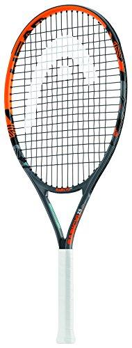 """Head Kid's Radical Racchetta Da Tennis per bambini, colore Nero/Arancia, 25"""""""