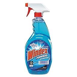 Diversey 90135 Windex RTU Ammoniad Capped Trigger Sprayer, 32 oz. (Pack of 12)