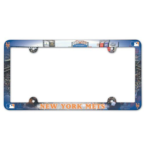 New York Mets Full Color License Plate Frame at Amazon.com
