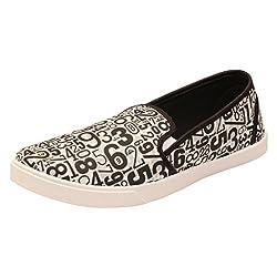 Frestols Stylish & Comfort Look Black Loafer Shoes For Mens