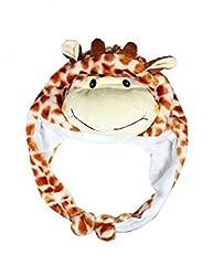 Giraffe (Us Seller)New Hooded Cap Hat Plush Beanie Fleece Winter