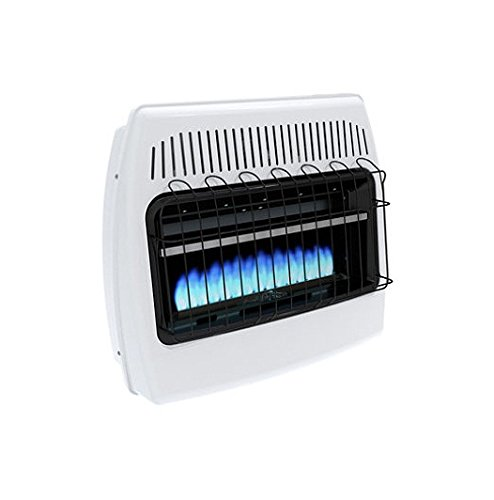 Dyna-Glo BF30NMDG 30,000 BTU Natural Gas Blue Flame Vent Free Wall Heater (Wall Heater Btu compare prices)