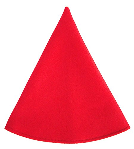 Red Gnome Hat Boys Costume Cap