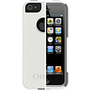 OtterBox Commuter Series Case for iPhone 5 - Frustration-Free Packaging - Glacier