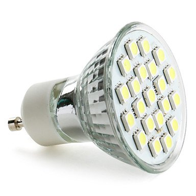 Gu10 5050 Smd 21-Led White 200-220Lm Light Bulb (230V, 3-3.5W)