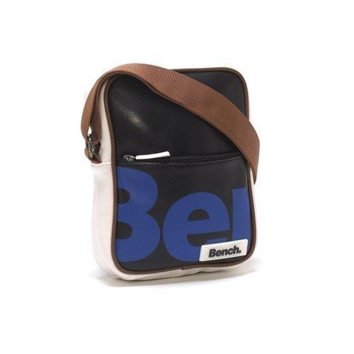 Bench Cross Body PU Hip Bag - ECHO Black w/Blue Logo