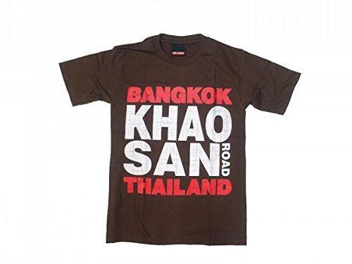 カオサン Tシャツ 半袖 バックパッカー 旅行 タイ バンコク 聖地 観光名所
