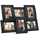 6 Opening 2.5x3.5 Collage Picture Frame