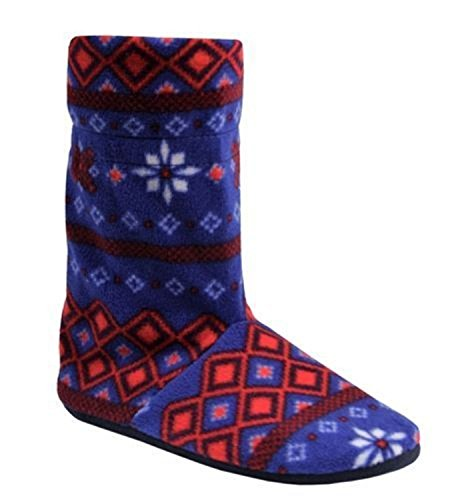 get-the-trend-botas-de-material-sintetico-para-mujer-azul-azul-marino
