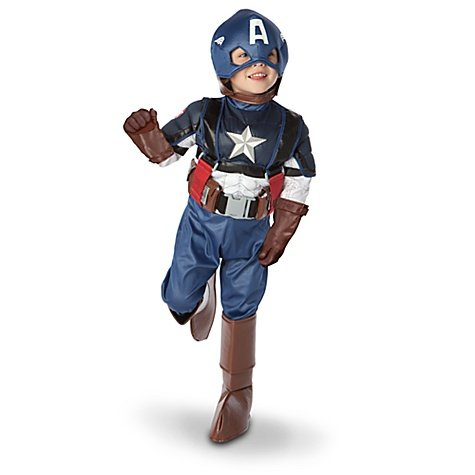 Disney Store Captain America Halloween Costume Size Large 10