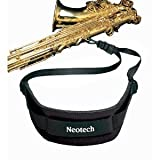 Neotech Sax Strap with Swivel, Black - Regular