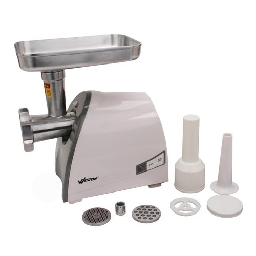 #8 Heavy Duty Electric Meat Grinder (575 Watt) (Weston # 33-0201-W)