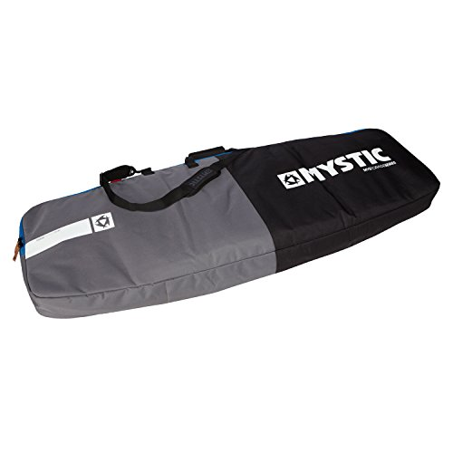 Mystic Star Kite/Wave DOUBLE Board Bag Black/Silver 140545 Bag Size - 1.45 M
