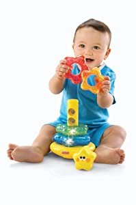 Fisher-Price Brilliant Basics Little Super Star Classical Stacker