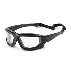 Pyramex I-Force Sporty Dual Pane Anti Fog Clear Lens Goggle